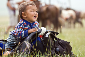 Growing up Mongolia